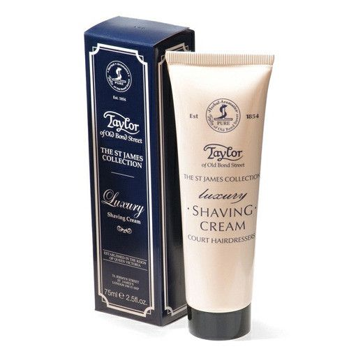 Taylor of Old Bond Street Classic Shaving Cream Travel Tube, St. James