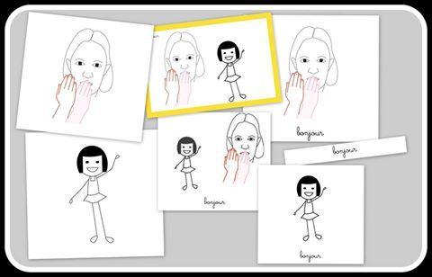 J'ai organisé le dictionnaire par thème à partir du livre « Prendre de soin de moi ». J'ai développé les branches :  Ma communication Mon rythme Mon corps à l'intérieur Mon corps à l'extérieur Mon esprit  Pour ceux et c'elles qui souhaitent personnaliser leur apprentissage ou connaissance LSF, je propose pour chaque mot, plusieurs versions, afin que vous puissiez proposer aux enfants (en tant que parent ou professionnel) le mot LSF avec l'illustration correspondante à l'enfant.