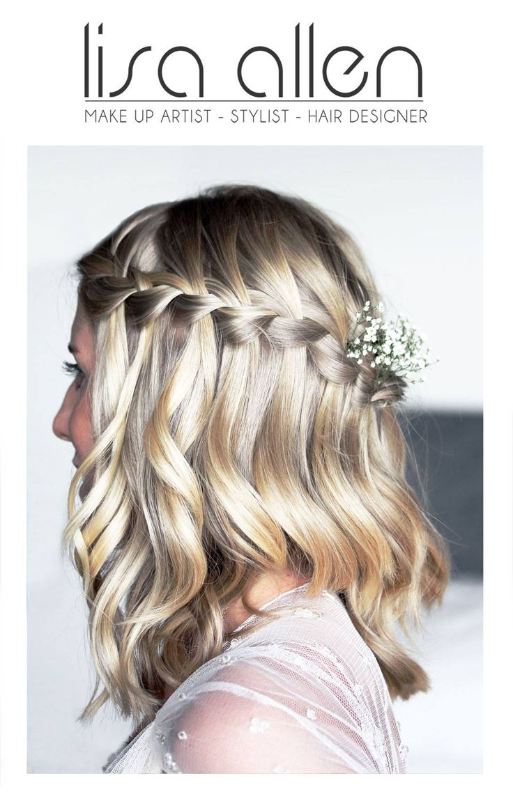 hair with bangs styles 17 best ideas about waterfall braid updo on 8014