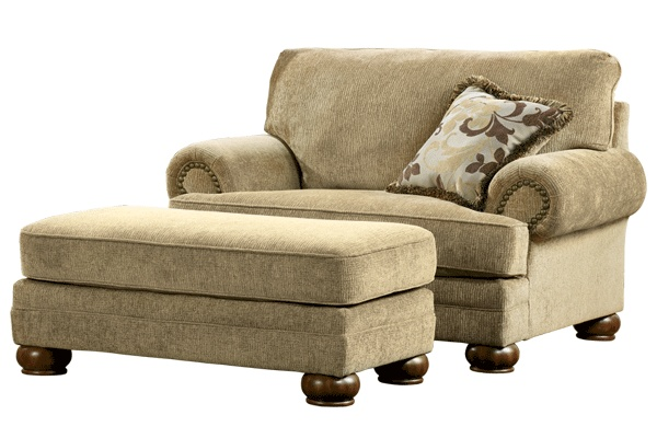 Ashley Furniture  Lilly Caramel Chair and a Half