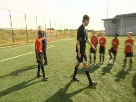A young Danny Welbeck takes on Ruud Van Nistelrooy. What a classic video!