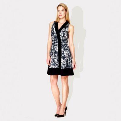Damsel in a dress Black and blush print Hanami dress- at Debenhams.ie
