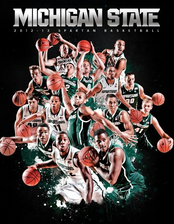 #Spartan Basketball in the Izzone