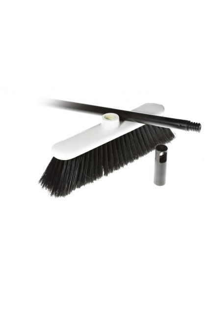 Sweep-Ezy, Complete Magnetic Upright Broom: Magnetic Upright Broom, soft synthetic fibres.