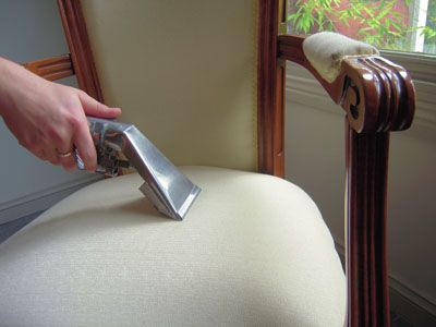DIY homemade upholstery cleaner. Remove stains easily and keep your furniture clean and fresh.