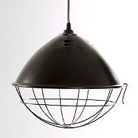 CHIT Lampa przemysłowa czarna loft | 159,20zł