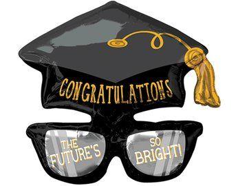 Graduation Balloon - Grad Party Decor, Graduation Balloons, Grad Party Supplies, Graduation Party Decorations, College Graduation, Graduate