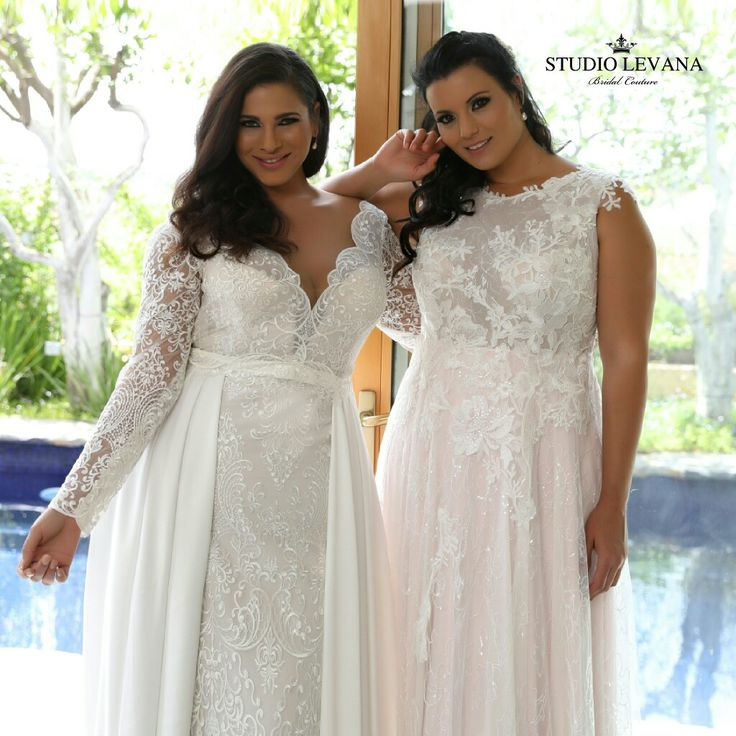 Plus size bridal perfection twice!