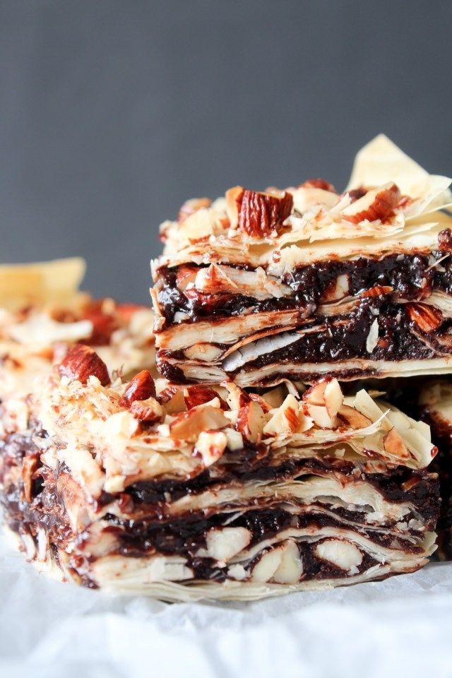 Baklava Inspireret Brownies | One Kitchen - A Thousand Ideas
