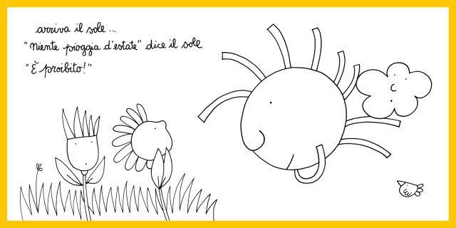 Nuvola olga in estate nicoletta costa pinterest for Nuvola da colorare