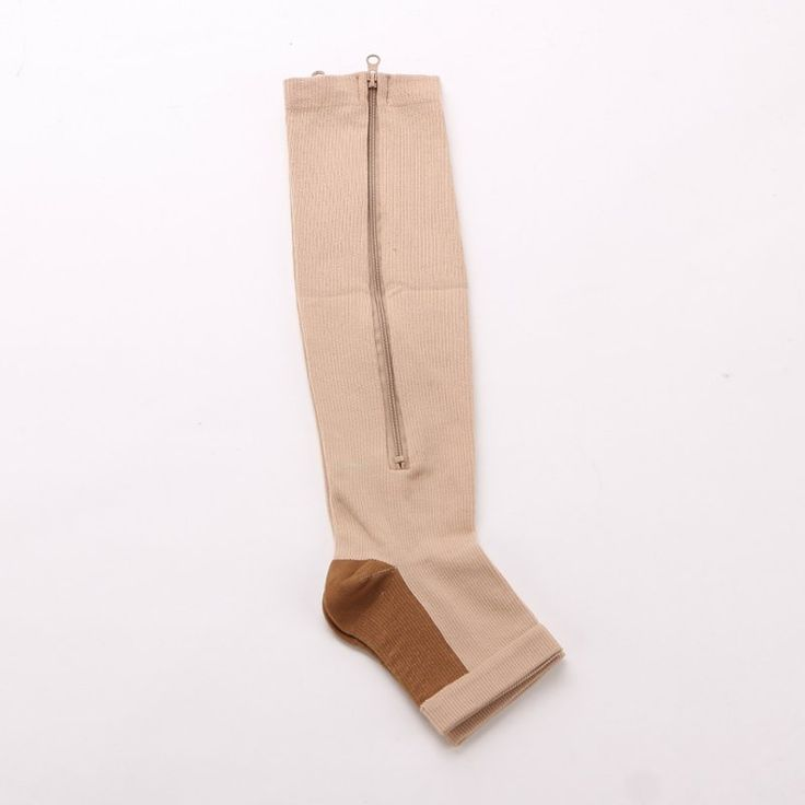 Durable Soothe Varicose Veins Compression Socks Stocking Sleep Leg Slimming - Newchic Mobile.