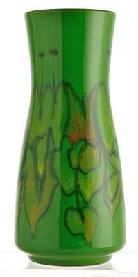 Vintage 70's Large Poole Pottery Delphis Vase, Shape 15 by Debbie Long. VGC.
