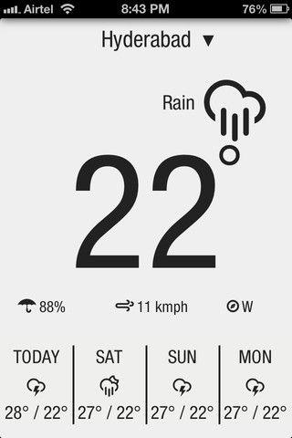 App Store - Weather Neue