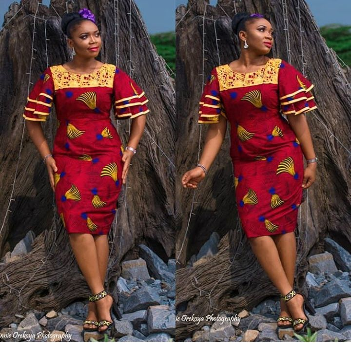 Trending #Ankara #gown #styles for every Woman: #African #Fashion #Designs