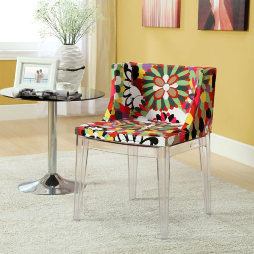 Mademoiselle Style Design Accent Chair with Clear Acrylic Base  Modern  Dining ChairsFunky ChairsLiving Room  154 best Furniture images on Pinterest   Modern design  Ottomans  . Funky Chairs For Living Room. Home Design Ideas