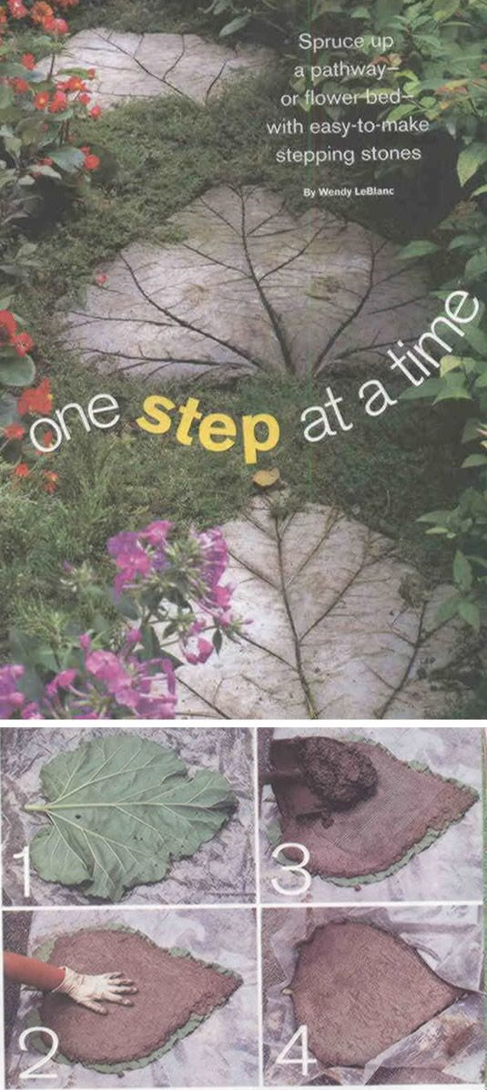 Rhubarb stepstones