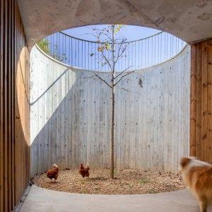 Arnau Vergés builds concrete outbuilding  for 17th-century Spanish farmhouse