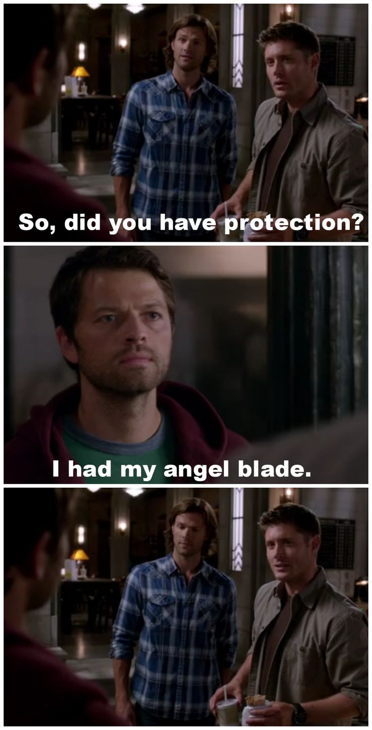 #Supernatural 9.03 I'm no Angel.... I love how the things I texted you during the episode end up being on pinterest and I find them via someone else's page.