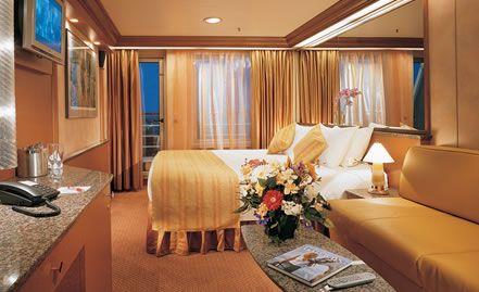 Carnival sensation junior suite stateroom jim mary room - Carnival sensation interior rooms ...