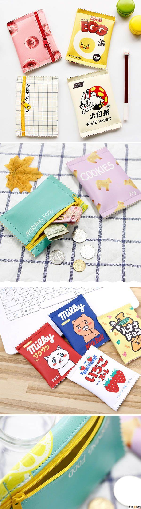 US$3.78+ Free Shipping. Women Girls Cute Fashion Snacks Coin Purse Mini Wallet Money Bag Key Change Pouch.  Women fashion, purse, wallet. Shop at banggood.