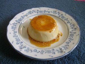 crème caramel divine au thermomix