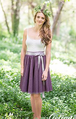 Gelique Anna Skirt 6 Layers - Bridesmaid Dress, Evening Wear, Proudly South African, Home of the Infinity / Wrap / Convertible Dress