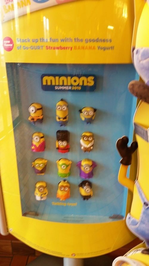 Minions McDonalds 2015 Happy Meal Toys New Sealed US Release set of 12 PRE-SALE #McDonalds