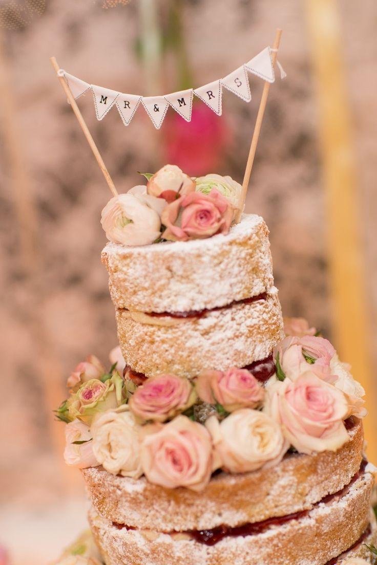 frweddingstyle naked rustic wedding cakes