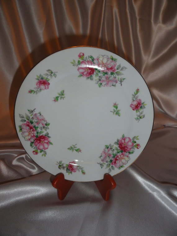 Vintage China Plate made in Occupied Japan by VintageAdorables $18.00 & 16 best Occupied Japan China images on Pinterest | China plates ...