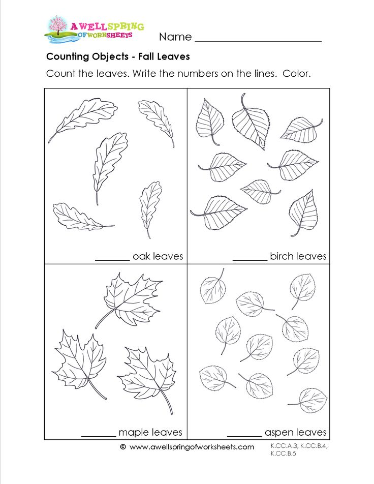 Counting Objects up to 10: This set of 9 creative worksheets has four sets per page. Each set has a different number of objects between 1 and 10. Themes include fall leaves, alien invasion, let's go on a picnic, bathtub toys and more!