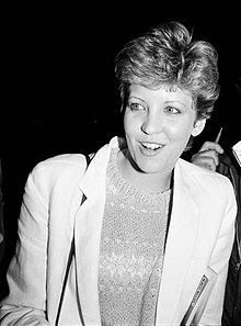 Nancy Anne Allen-- (born June 24, 1950) is an American actress and cancer activist best known for her roles in the films Carrie (1976), as Chris Hargensen, RoboCop (1987), and Dressed to Kill (1980), the latter of which earned her a Golden Globe nomination.