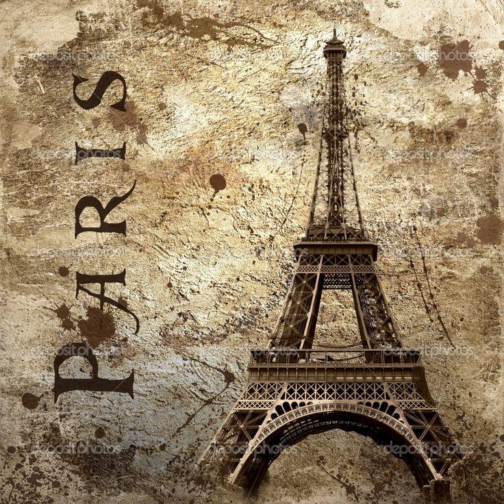 Resultados da Pesquisa de imagens do Google para http://static6.depositphotos.com/1132629/635/i/950/depositphotos_6355236-Vintage-view-of-Paris-on-the-grunge-background.jpg