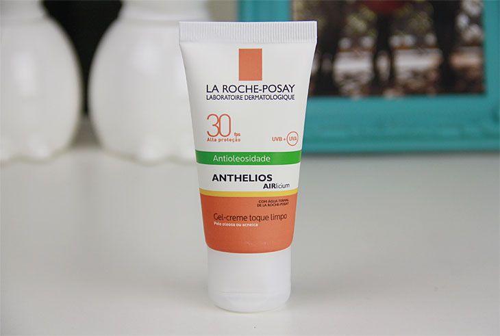 ✔ Protetor solar facial antioleosidade Anthelios Airlicium - La Roche-Posay (comprado, testado e aprovado, só que na versão FPS 70)