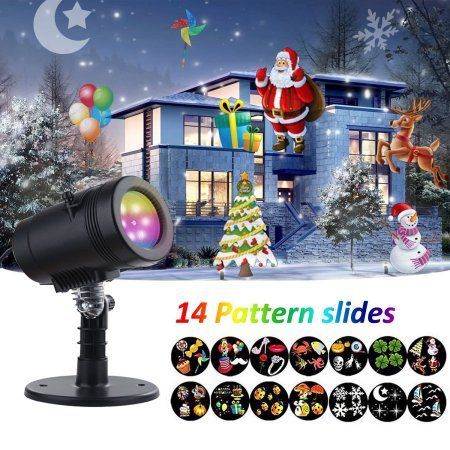 Christmas Light Projector,LED Projector Lights 14 Switchable