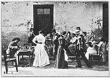 personas bailando cueca (1906) // people dancing cueca (1906)