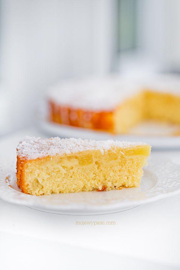 Ciasto Pina Colada (cytryny, ananas, likier kokosowy, wiórki kokosowe)
