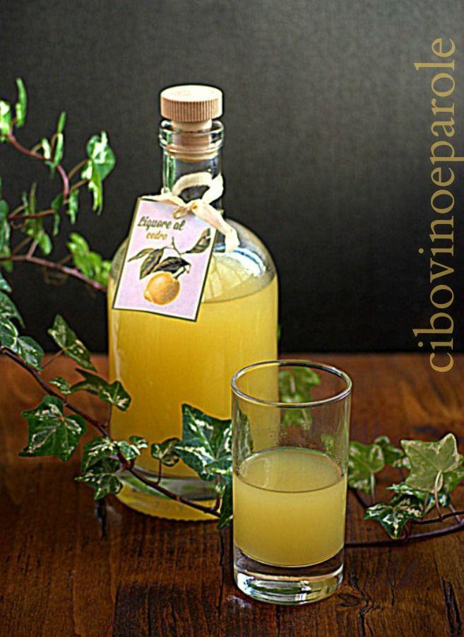 Liquore al cedro #ricetta di @annamolino