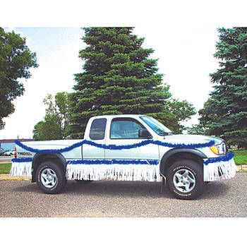 Decorate your truck for the big parade with our Easy Parade Metallic Float Truck Kit.
