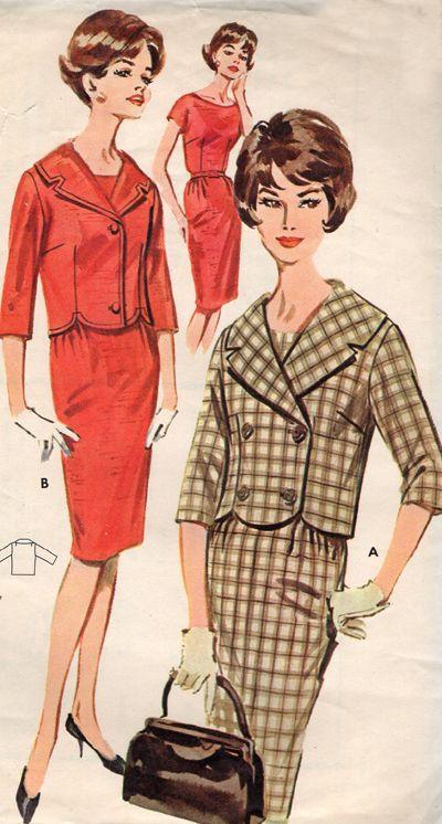 Vintage Skirt Suit
