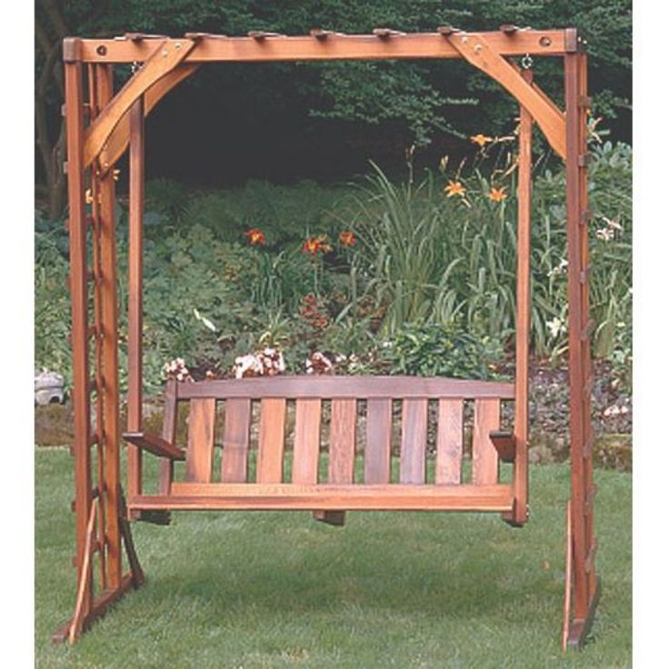 17 best images about arbor with swing on pinterest cleanses bench designs and squares - Arbor bench plans set ...