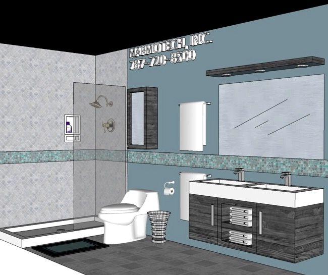 Pin by ba os marmotech on bathroom 5x12 pinterest for Bathroom ideas 5x12