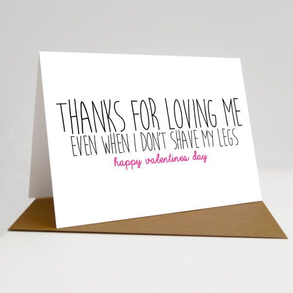 Valentines Day Card Valentines Card Anniversary Card Funny