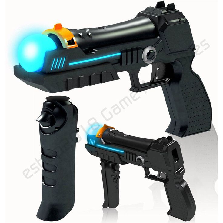 * 2 Precision Shot Guns for Playstation 3 PS3 Move * #UnbrandedGeneric