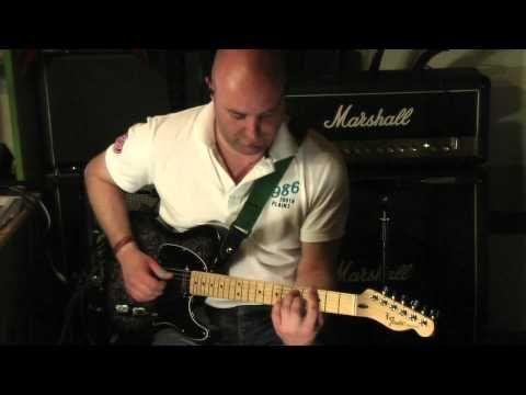 ▶ Fender Telecaster FSR Black Paisley - YouTube