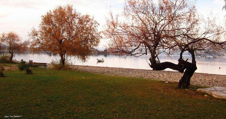 Autumn at the village Selianitika