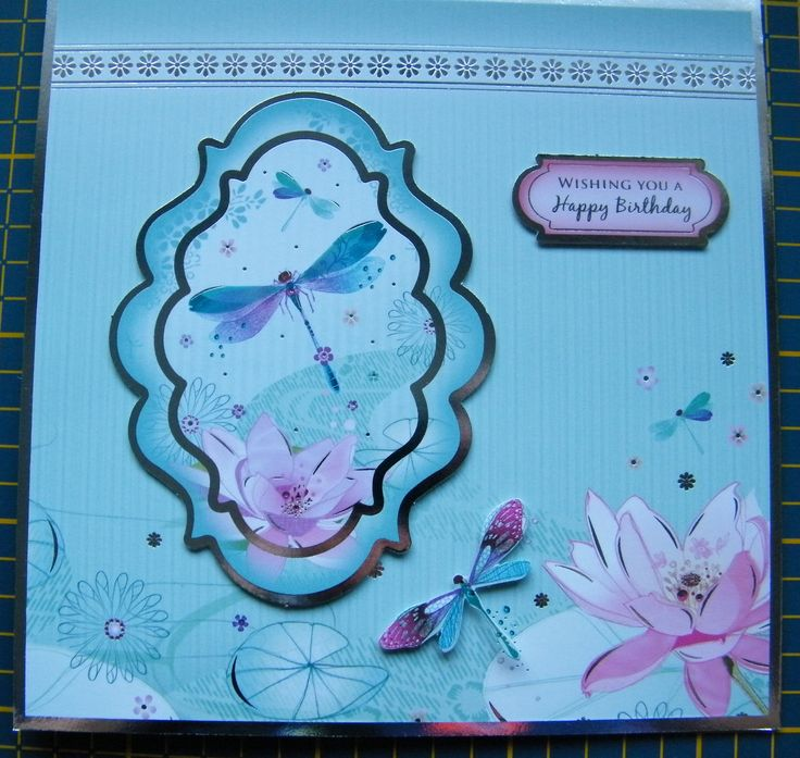 A Hunkydory card I made