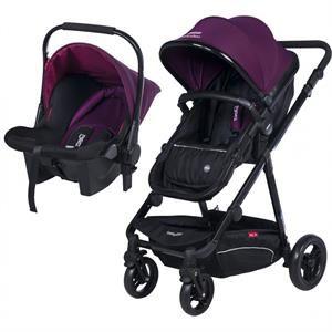 Baby2Go Lavida Travel Sistem Bebek Arabası Mor 2016