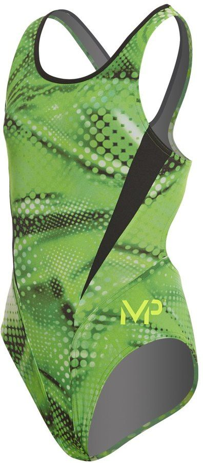 MP Michael Phelps Girls' Mesa Comp Back One Piece Swimsuit 8159721