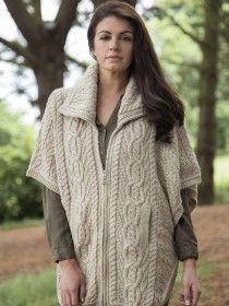 Aran Jacket Merino Wool X4368