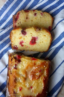 Orange cranberry pound cake and the secret to making the moistest pound cake ever.